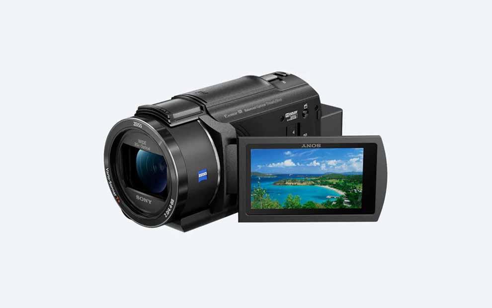 دوربین دستی سونی (هندی کم) مدل AX43 4K به همراه سنسور Exmor R™ CMOS